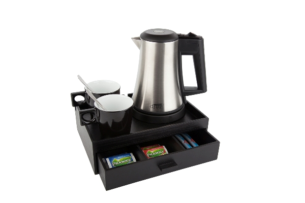 Coffee and tea facility with 0.5 litre kettle B-TRAY SMART