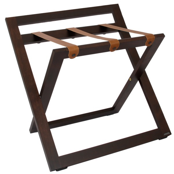 Hotel suitcase stand solid wood | B-TRAY hotel supplies