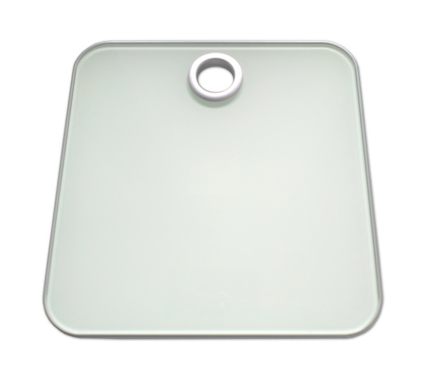 Bathroom scale white | Luxury weighing scale for hotels | B-TRAY Hotel Supplies