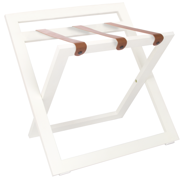 White luggage rack for hotel | B-TRAY hotel supplies