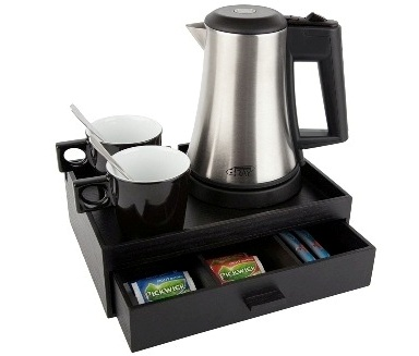 Hospitality tray with 0,5 litre kettle B-TRAY SMART