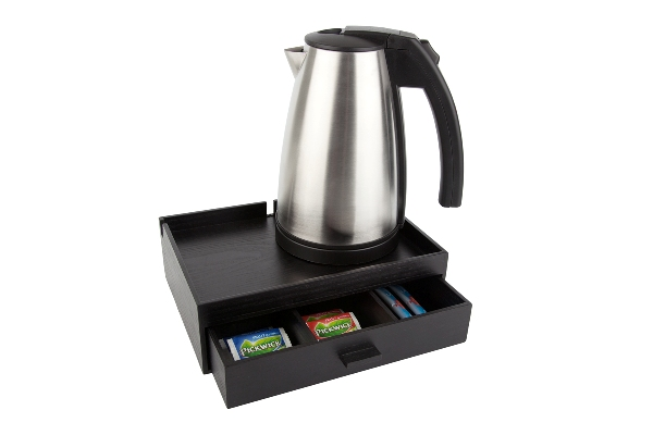 Coffee and tea tray with 1.0 litre kettle STYLE B-TRAY SMART