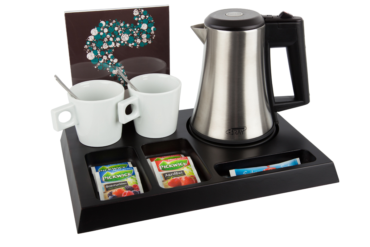 Hospitality tray B-TRAY SIGNUM for hotel room