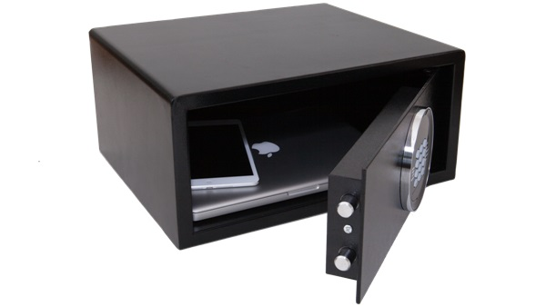 Hotel laptop safe B-TRAY - can cold 15 inch laptops