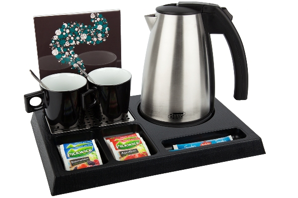 Hotel trays ABS with 1.0L hotel water kettle STYLE | B-TRAY STAY