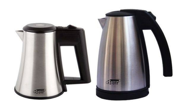 Hotel water kettles B-TRAY STAR 0.5 litre and STYLE 1.0 litre