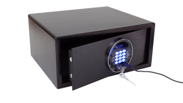 Hotel laptop safe | Safe for hotel room | B-TRAY Hotel Supplies