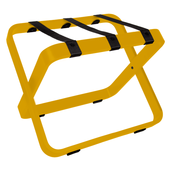 Luggage Rack SWING SPECIAL Yellow | B-TRAY Hotel Supplies