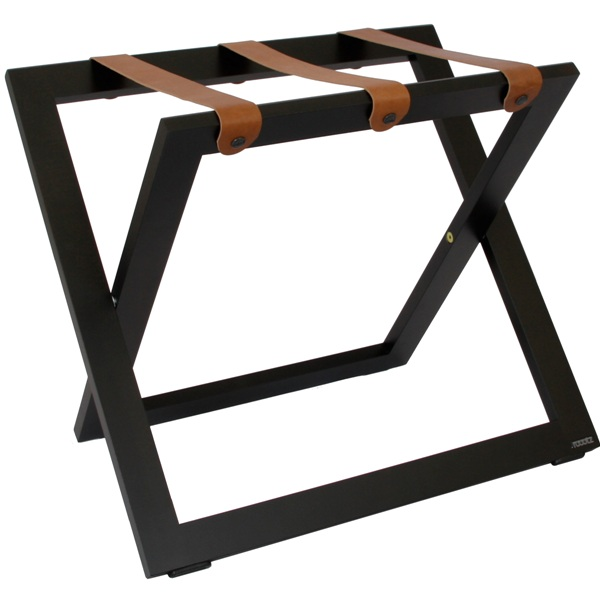 Luggage stand solid beechwood strong & stable B-TRAY