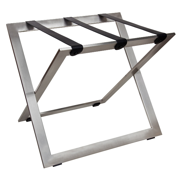 Luggage rack for hotels stainless steel B-TRAY STAND-STEEL