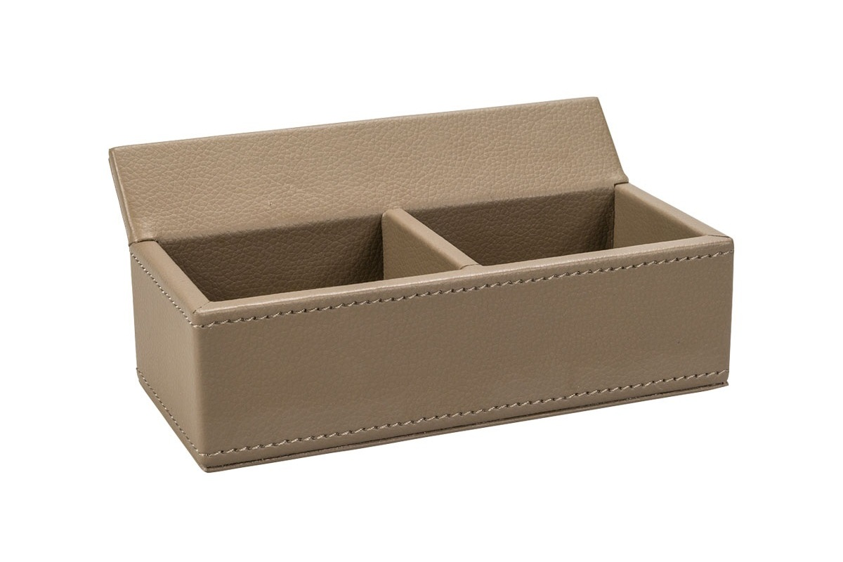 Leather Storage Boxes For Sachets